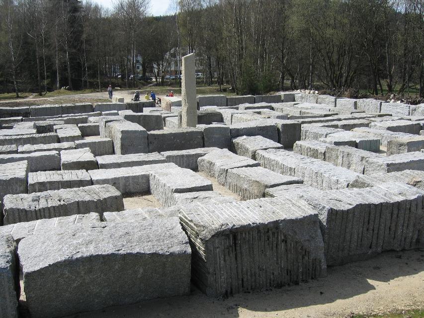 Granitlabyrinth bei Kirchenlamitz
