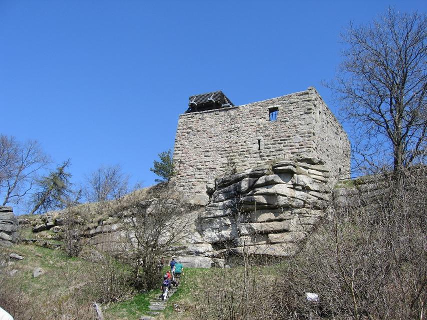 Burgruine Epprechtstein bei Kirchenlamitz