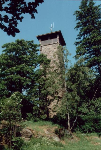 Aussichtsturm Weißenstein bei Stammbach
