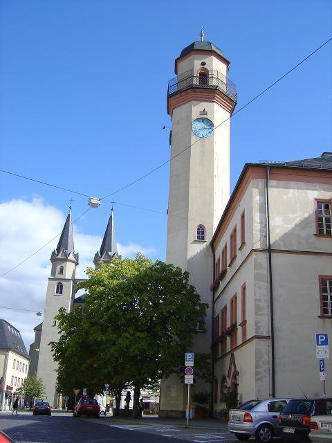 Rathaus von Hof / Saale