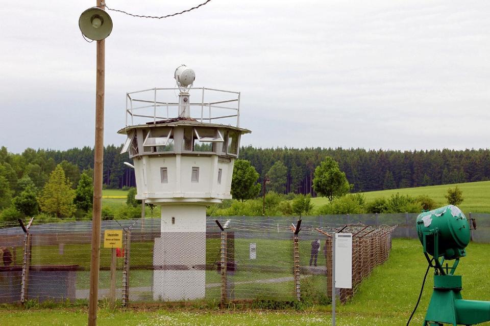 Deutsch-Deutsches Grenzmuseum in Mödlareuth