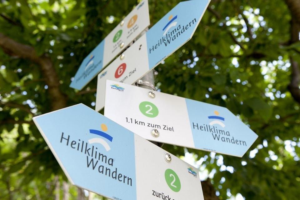 Heilklima Wanderwege