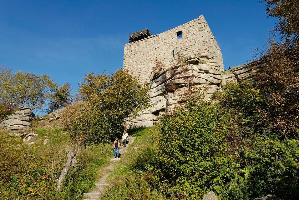 Burgruine Epprechstein bei Kirchenlamitz