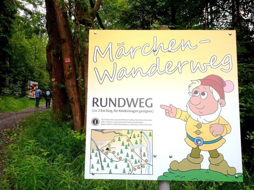 Märchenwanderweg Start