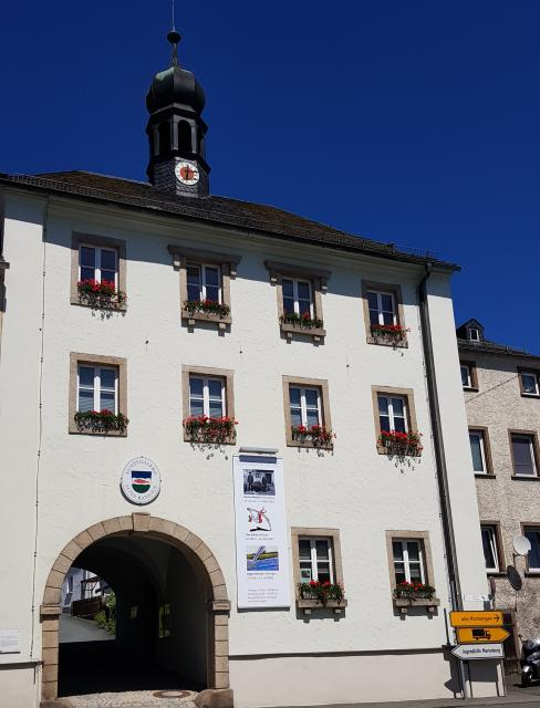 Städtischen Galerie, in welcher mehrere Jahre lang Objekte der Sammlung Severin ausgestellt waren