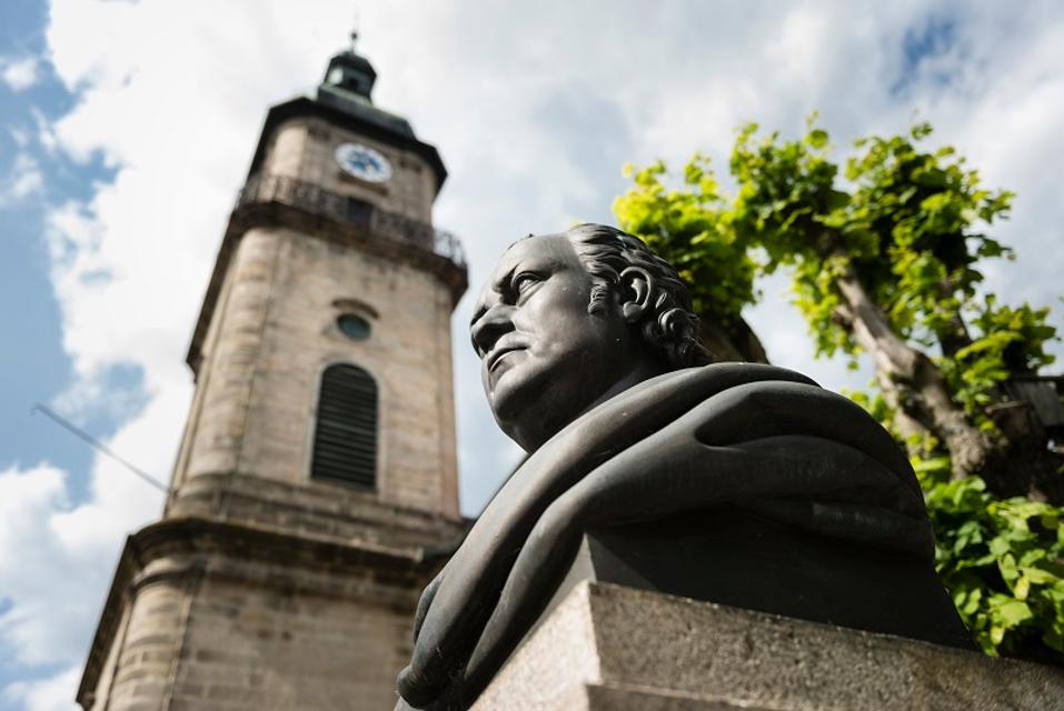 Wunsiedel - Jean Paul Denkmal