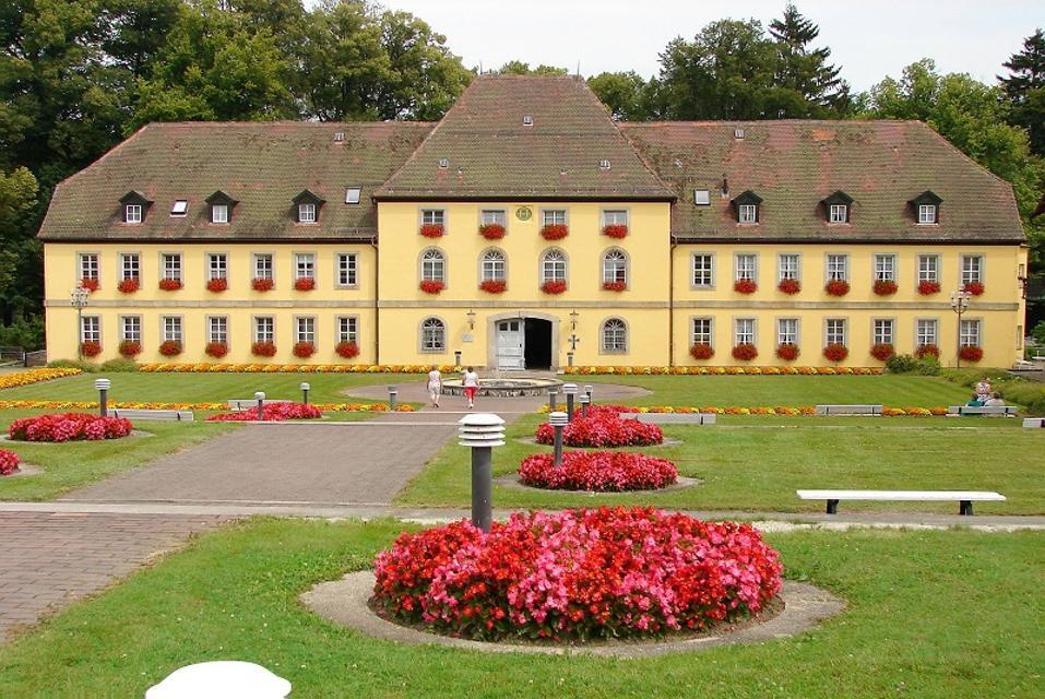 Markgräfliches Schloss in Bad Alexandersbad