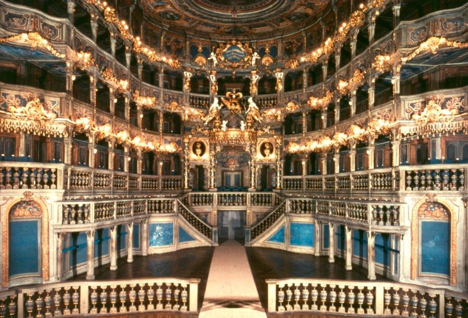 Bayreuth - Markgräflisches Opernhaus, seit 2012 Weltkulturerbe