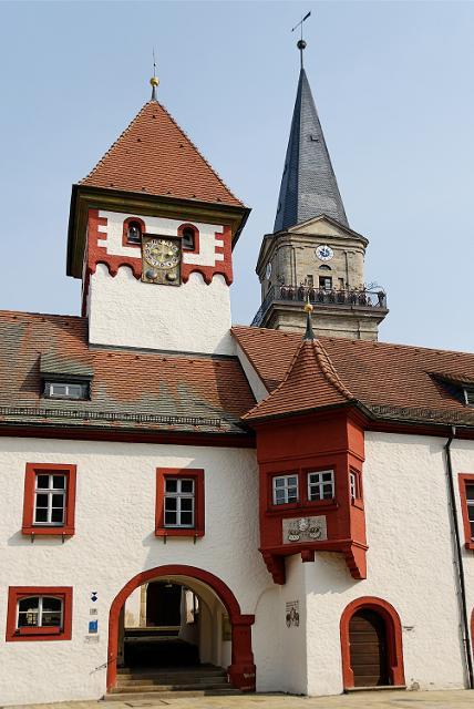 Rotes Rathaus in Marktredwitz