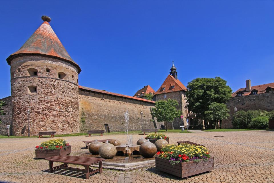 Burg Hohenberg in Hohenberg an der Eger