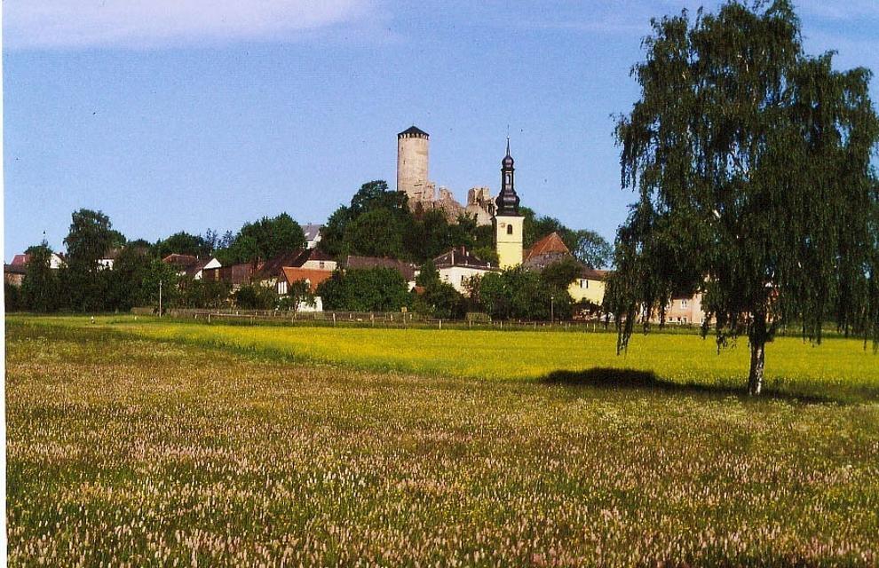 Stadtansicht von Thierstein