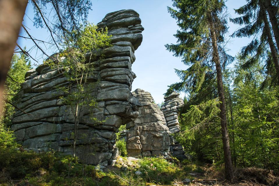 Drei Brüder Felsen am Rudolfstein