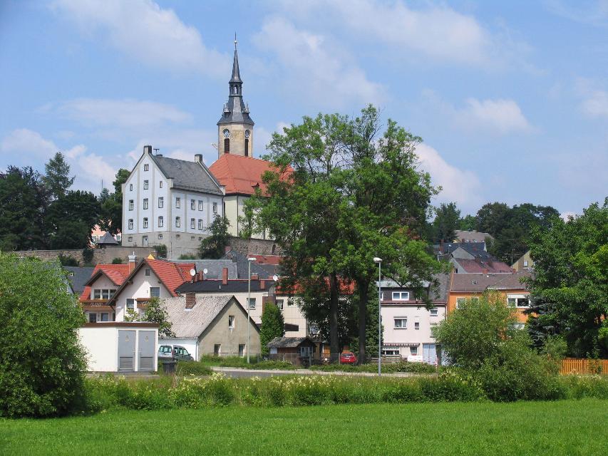 Kirche in Arzberg