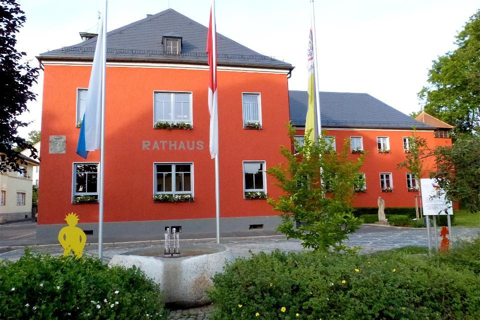 Rathaus von Arzberg