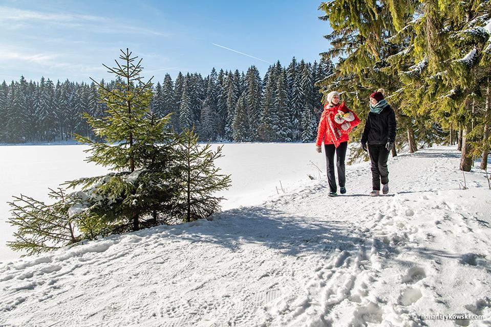 Winter am Fichtelsee