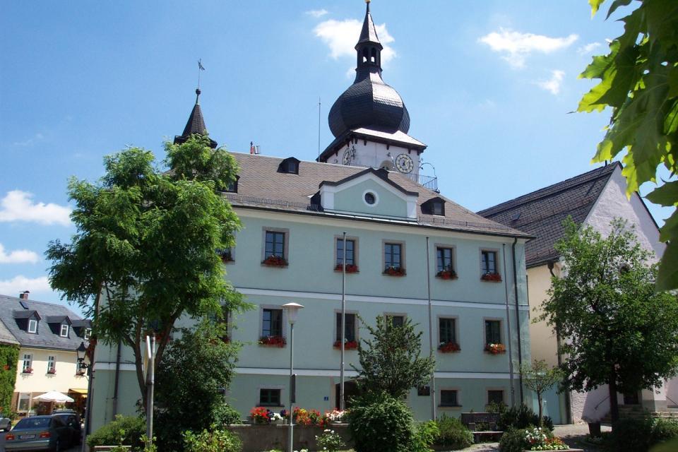 Rathaus von Marktleuthen