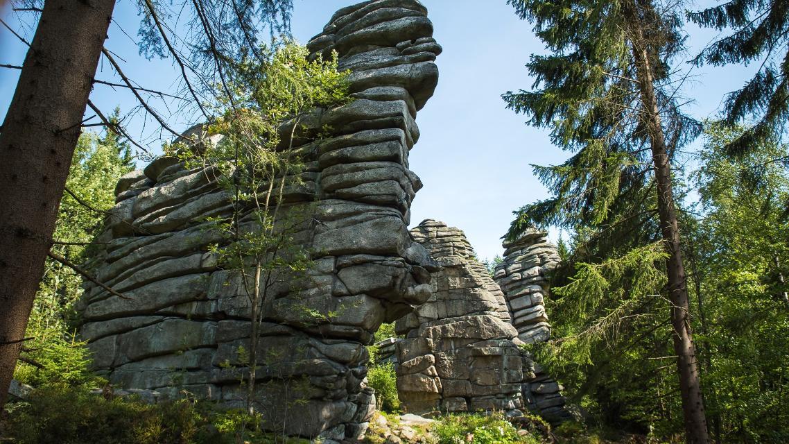 Drei Brüder Felsen Weißenstadt