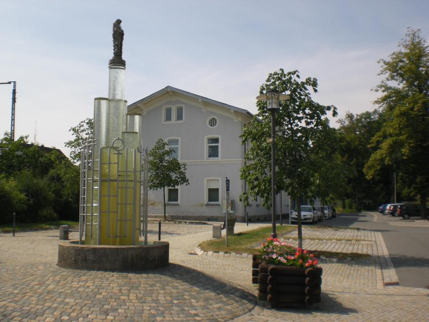 Stadt Mitterteich - Glasbrunnen