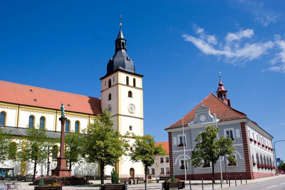 Stadt Mitterteich - Marktplatz