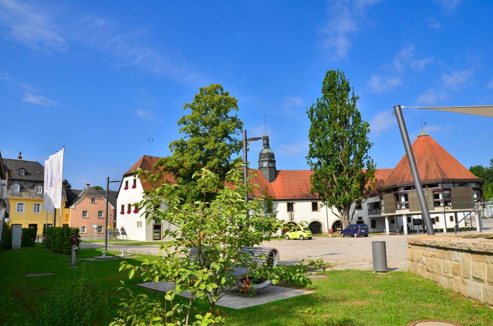 Rathaus Schwarzenbach an der Saale