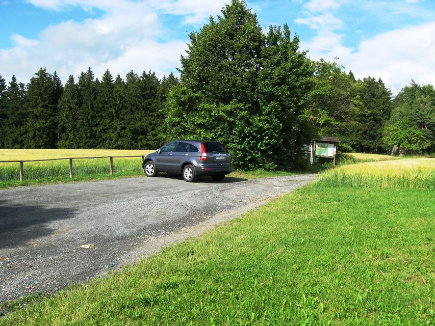 Wanderparkplatz am Kellerhaus