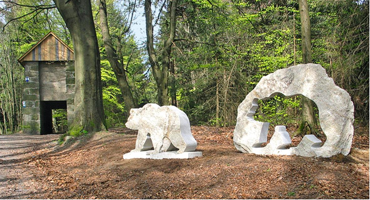 Granit-Bären