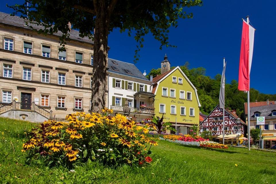 Historisches Marktplatzensemble von Bad Berneck