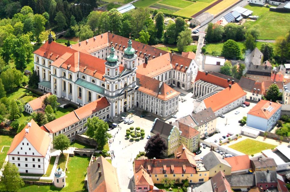 Lufbild Kloster Waldsassen von Michael Ascherl