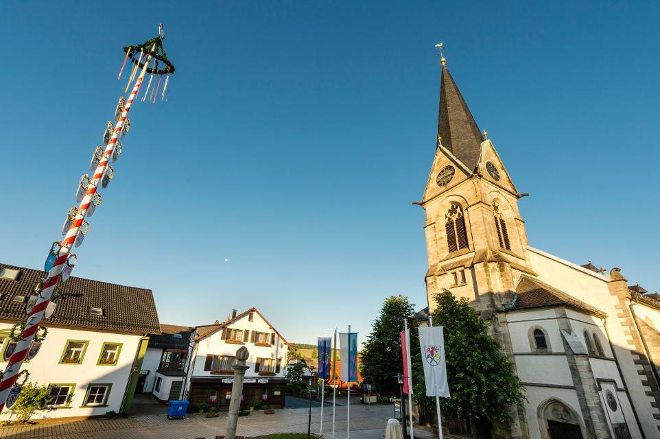 Marktplatz von Bischofsgrün