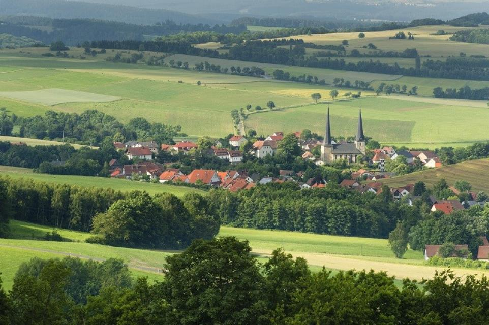 Blick auf Nemmersdorf