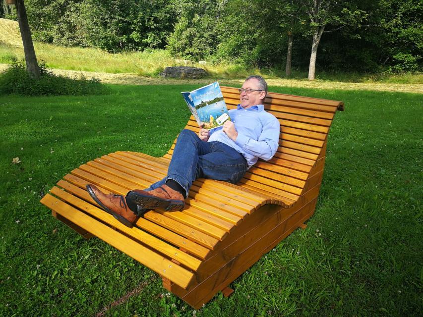 Abgebildet: Herr Dreyer (1. Bürgermeister)