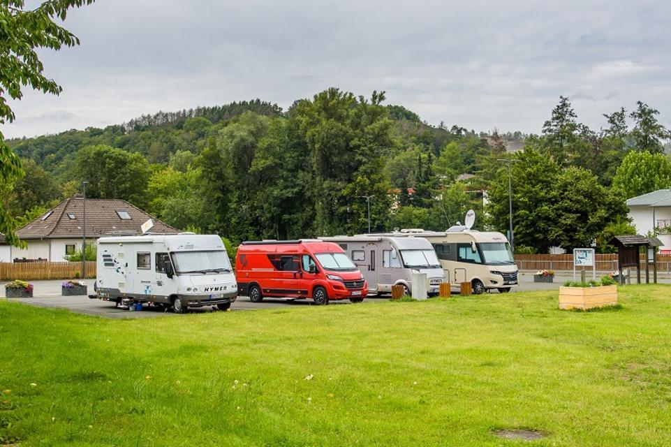 Wohnmobilstellplatz in Bad Berneck