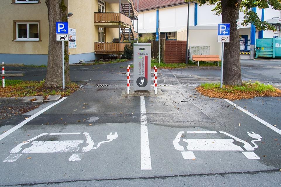 E-Auto-Ladestation Bad Berneck