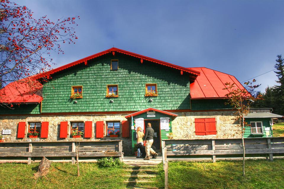 Wandern im Fichtelgebirge - Seehaus