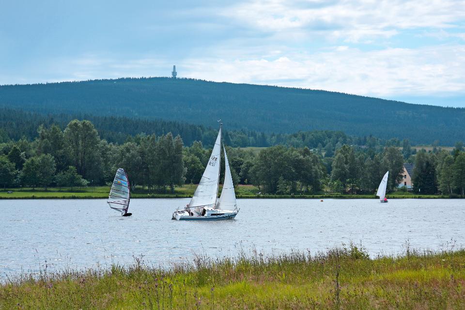 Weißenstädter See in Weißenstadt