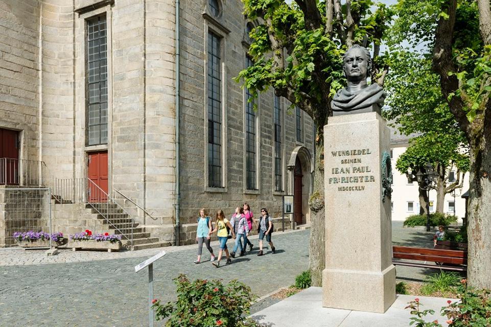 Jean Paul Denkmal in Wunsiedel