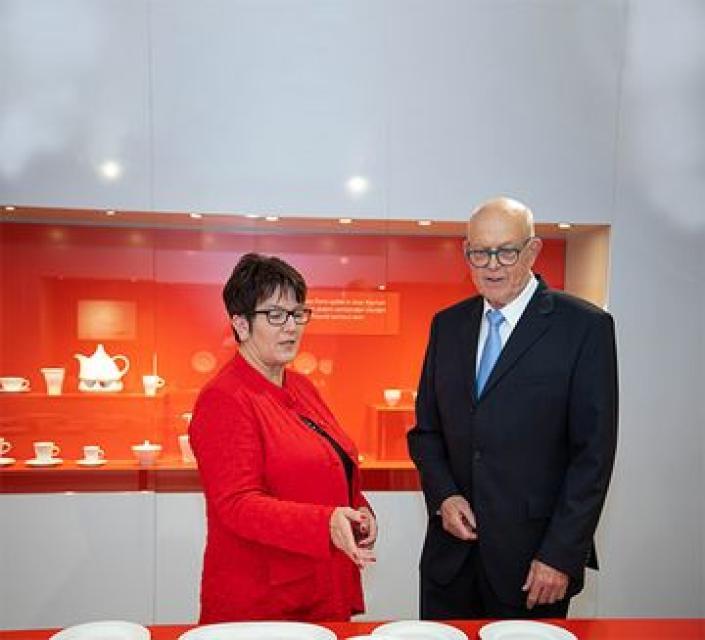 """Kuratorenführung zur Sonderausstellung """"Formvollendet – Keramikdesign von Hans-Wilhelm Seitz"""""""