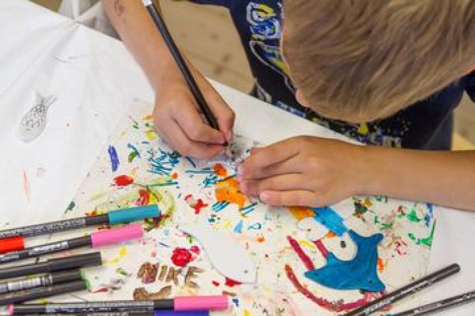Sommerferienprogramm: Wir malen den Sommer (r)aus!