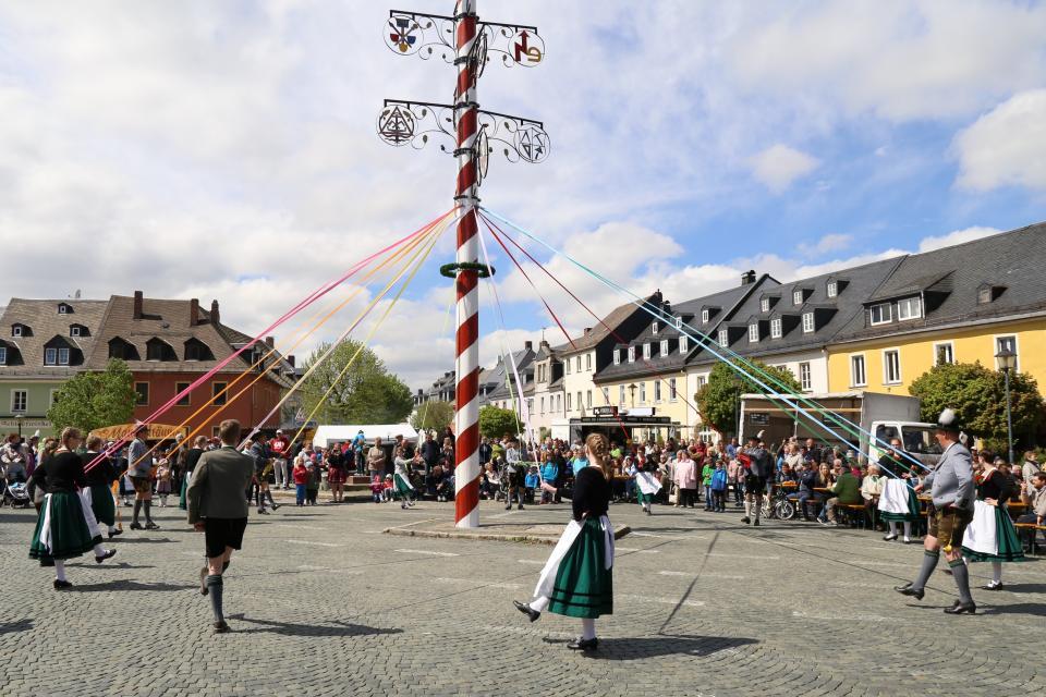 Maibaumfest Weißenstadt - Stadt Weißenstadt