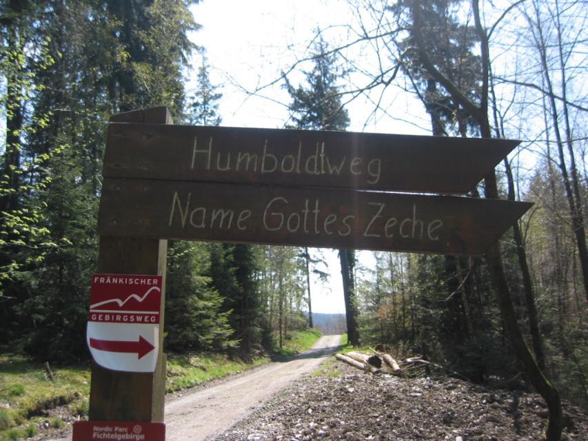 """Wanderung: """"Alexander von Humboldt im Goldbergbaurevier Goldkronach"""""""