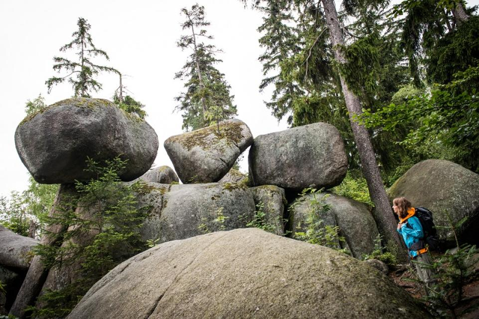 Tag des Geotops: Vom Neptunisten zum Plutonisten - Alexander von Humboldt und das Felsenlabyrinth