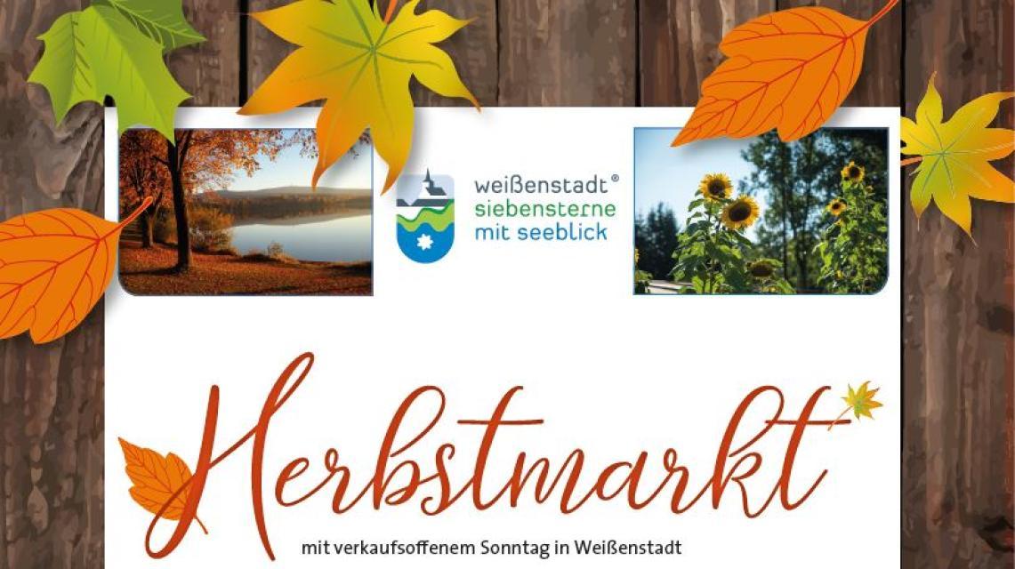 Herbstmarkt in Weißenstadt- mit verkaufsoffenem Sonntag