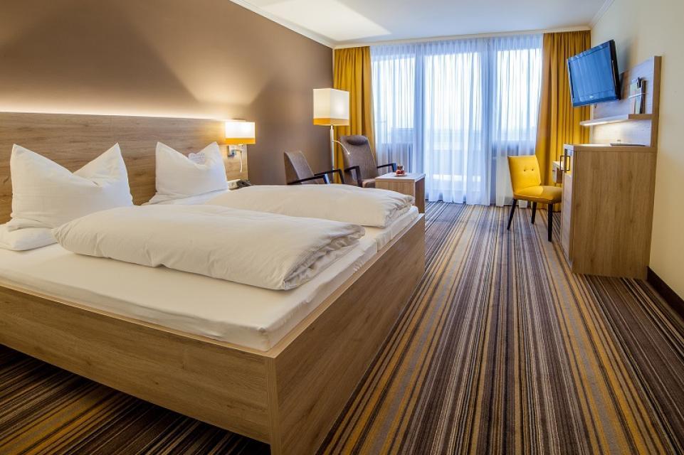 Doppelzimmer Premium - Kurzentrum Weißenstadt am See