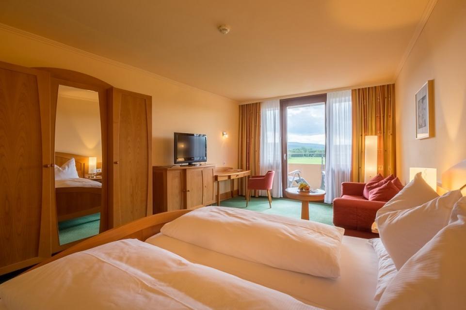 Doppelzimmer Komfort - Kurzentrum Weißenstadt am See