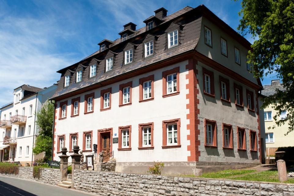 Wohnhaus von Alexander von Humboldt - Bad Steben / A. Hub