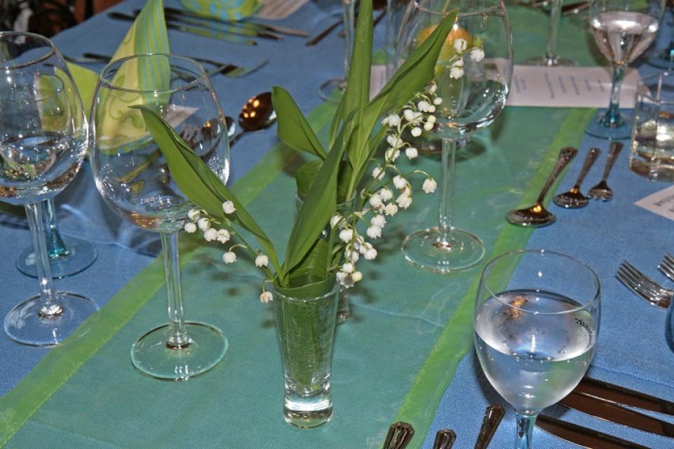 Stilvolles Ambiente bei Feierlichkeiten - Y. Rosner