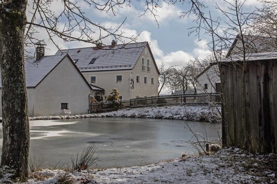 Gaststätte Panzen - Winter - Familie Tragl