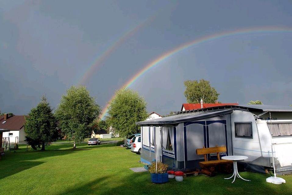 Campingplatz Holderbach in Mehlmeisel