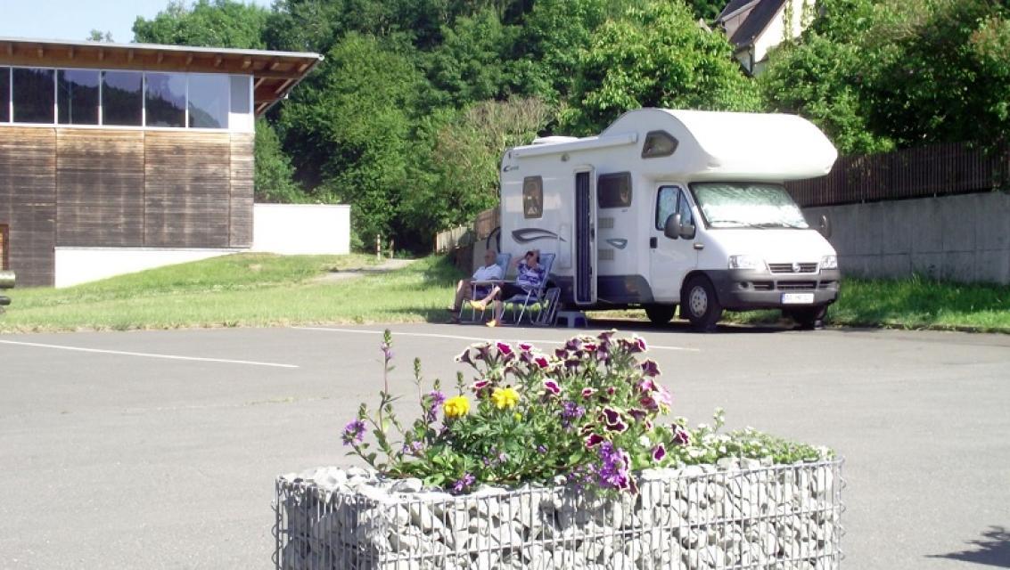 Wohnmobilstellplatz Bad Berneck