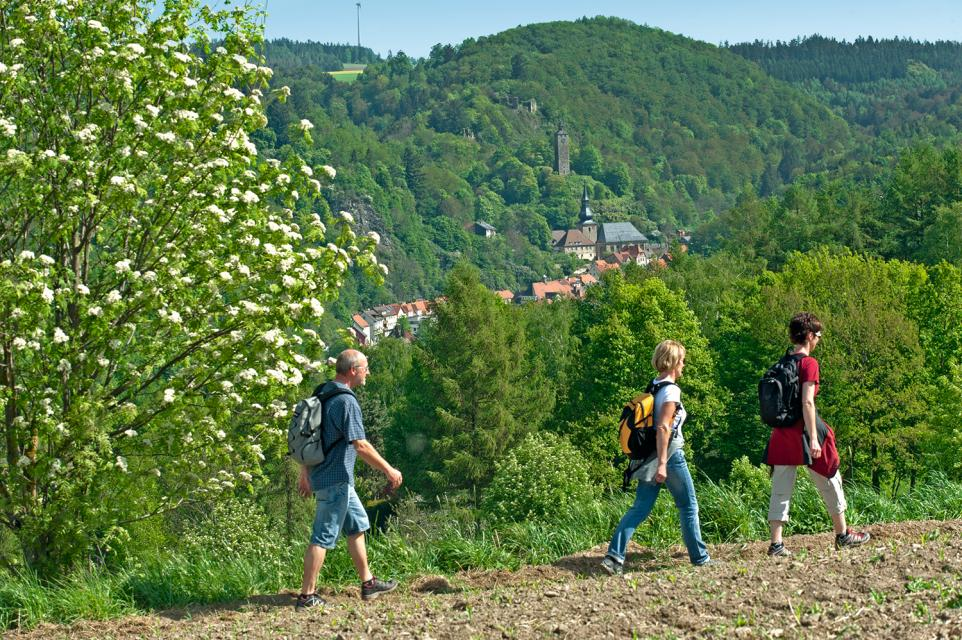 Bad Berneck im Fichtelgebirge - Genussort -